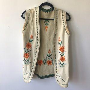 Vintage Bohemian Vest